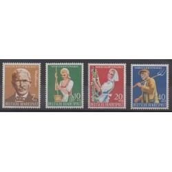 Allemagne occidentale (RFA) - 1958 - No 168/171 - Artisanat ou métiers