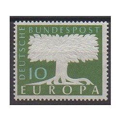 Allemagne occidentale (RFA) - 1958 - No 166 - Europa