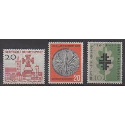 Allemagne occidentale (RFA) - 1958 - No 161/163