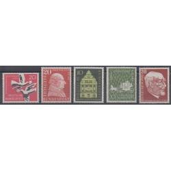 Allemagne occidentale (RFA) - 1957 - No 148/152