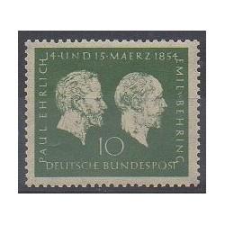 Allemagne occidentale (RFA) - 1954 - No 73 - Sciences et Techniques
