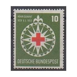 Allemagne occidentale (RFA) - 1953 - No 50 - Santé ou Croix-Rouge