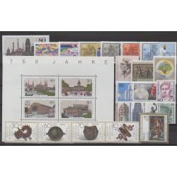 West Germany (FRG - Berlin) - 1987 - Nb 733/758