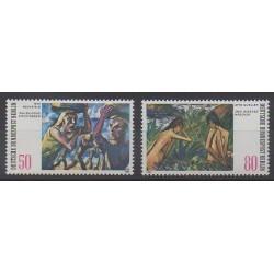 Allemagne occidentale (RFA - Berlin) - 1982 - No 639/640 - Peinture