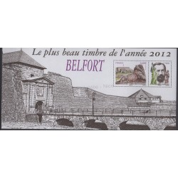 France - Souvenir sheets - 2013 - Nb BS 89 - Monuments