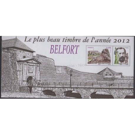 France - Souvenir sheets - 2013 - Nb BS 89 - Monuments