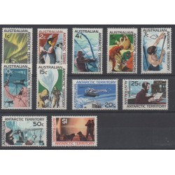 Australian Antarctic Territory - 1966 - Nb 8/18 - 1966 - Nb 8/18 - Polar