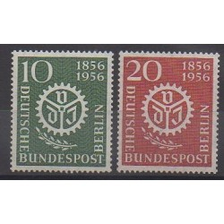 West Germany (FRG - Berlin) - 1956 - Nb 123/124 - Science
