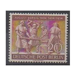 Allemagne occidentale (RFA - Berlin) - 1954 - No 110 - Artisanat ou métiers