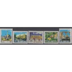 Albanie - 1974 - No 1498/1502 - Monuments