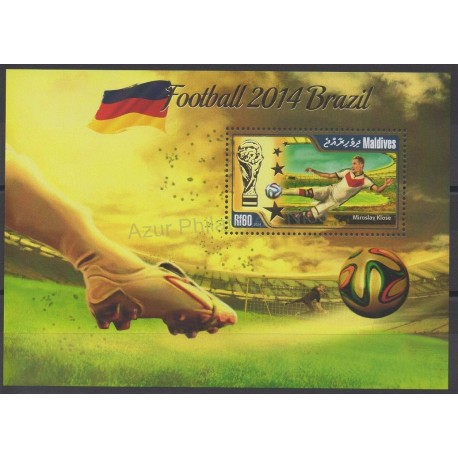 Maldives - 2014 - Nb BF 714 - Soccer world cup