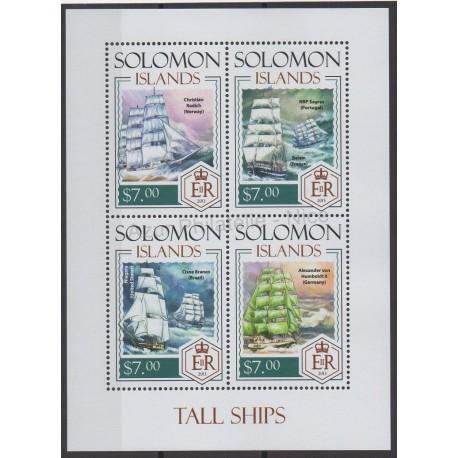 Salomon (Iles) - 2014 - No 2040/2043 - Bateaux