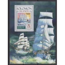 Salomon (Iles) - 2014 - No BF 261 - Bateaux