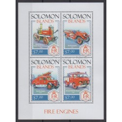 Salomon (Iles) - 2014 - No 2120/2123 - Pompiers