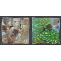 Grande-Bretagne - 1998 - No 2054/2055 - Masques ou carnaval