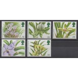 Grande-Bretagne - 1993 - No 1665/1669 - Orchidées