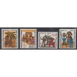 Cameroun - 1972 - No 517/520 - Enfance