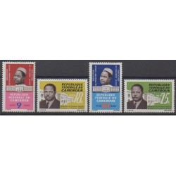 Cameroon - 1965 - Nb 405/408 - Various Historics Themes