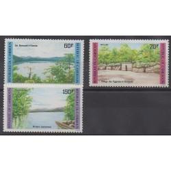Cameroun - 1985 - No 763/765 - Tourisme