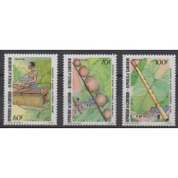 Cameroun - 1985 - No 752/754 - Musique
