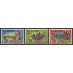 Gambie - 1971 - No 259/261 - Célébrités