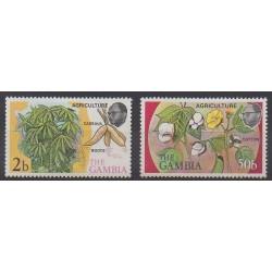 Gambie - 1973 - No 282/283 - Flore