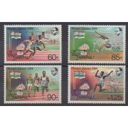 Gambie - 1984 - No 520/523 - Jeux Olympiques d'été