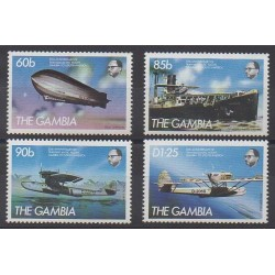 Gambia - 1984 - Nb 524/527 - Transport