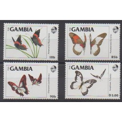 Gambie - 1985 - No 536/539 - Insectes