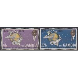Gambie - 1974 - No 293/294 - Service postal