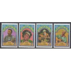Gambie - 1992 - No 1191/1194 - Musique