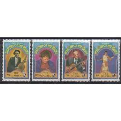 Gambie - 1992 - No 1165/1168 - Musique