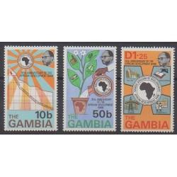Gambia - 1975 - Nb 308/310