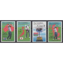 Gambie - 1992 - No 1238/1241 - Sports divers