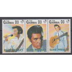 Gambie - 1992 - No 1275/1277 - Musique