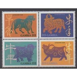 Gambie - 1997 - No 2198/2201 - Horoscope