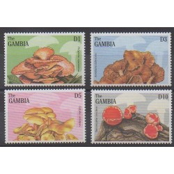 Gambia - 1997 - Nb 2250/2253 - Mushrooms