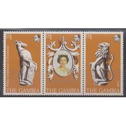 Gambie - 1978 - No 369/371 - Royauté - Principauté