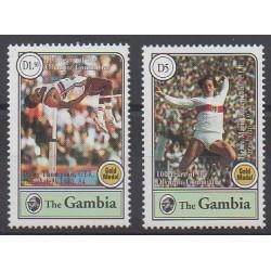 Gambie - 1994 - No 1687/1688 - Jeux Olympiques d'été