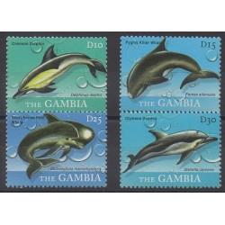 Gambie - 2010 - No 4973/4976 - Mammifères - Animaux marins