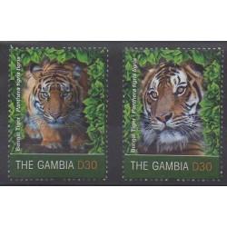 Gambie - 2011 - No 5019/5020 - Mammifères