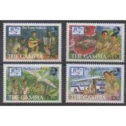 Gambie - 1987 - No 678/681 - Scoutisme