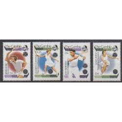 Gambia - 1990 - Nb 919/922 - Various sports