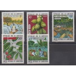 Cameroun - 1973 - No 536/540
