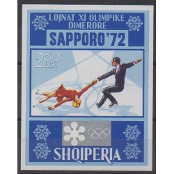 Albania - 1972 - Nb BF20 - Winter Olympics