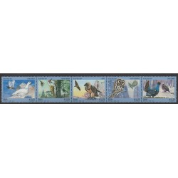 Italie - 2013 - No 3430/3434 - Oiseaux