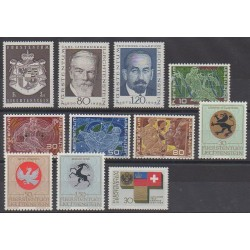 Liechtenstein - 1969 - No 455/465