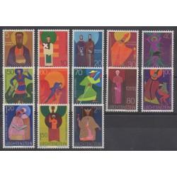 Liechtenstein - 1967 - No 434/445 - Religion
