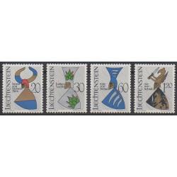 Liechtenstein - 1966 - No 413/416 - Armoiries