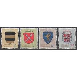 Lienchtentein - 1965 - Nb 399/402 - Coats of arms